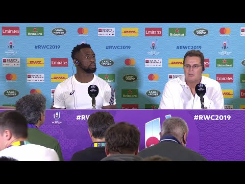 South Africa post match press conference | South Africa v Italy