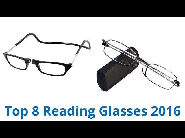 VIDEO Review) ThinOPTICS Keychain Reading Glasses, Blue Frame, 2.00 ...