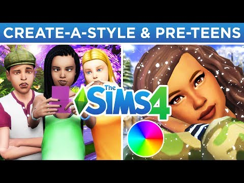 CREATE-A-STYLE, PRE-TEENS, SUPERHEROES, & MORE? 🎨🧑🏻 // The Sims 4: Speculation/Wish List thumbnail