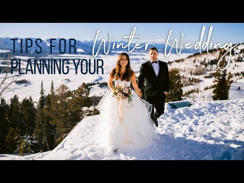 Download Tips for Planning a Winter Wedding