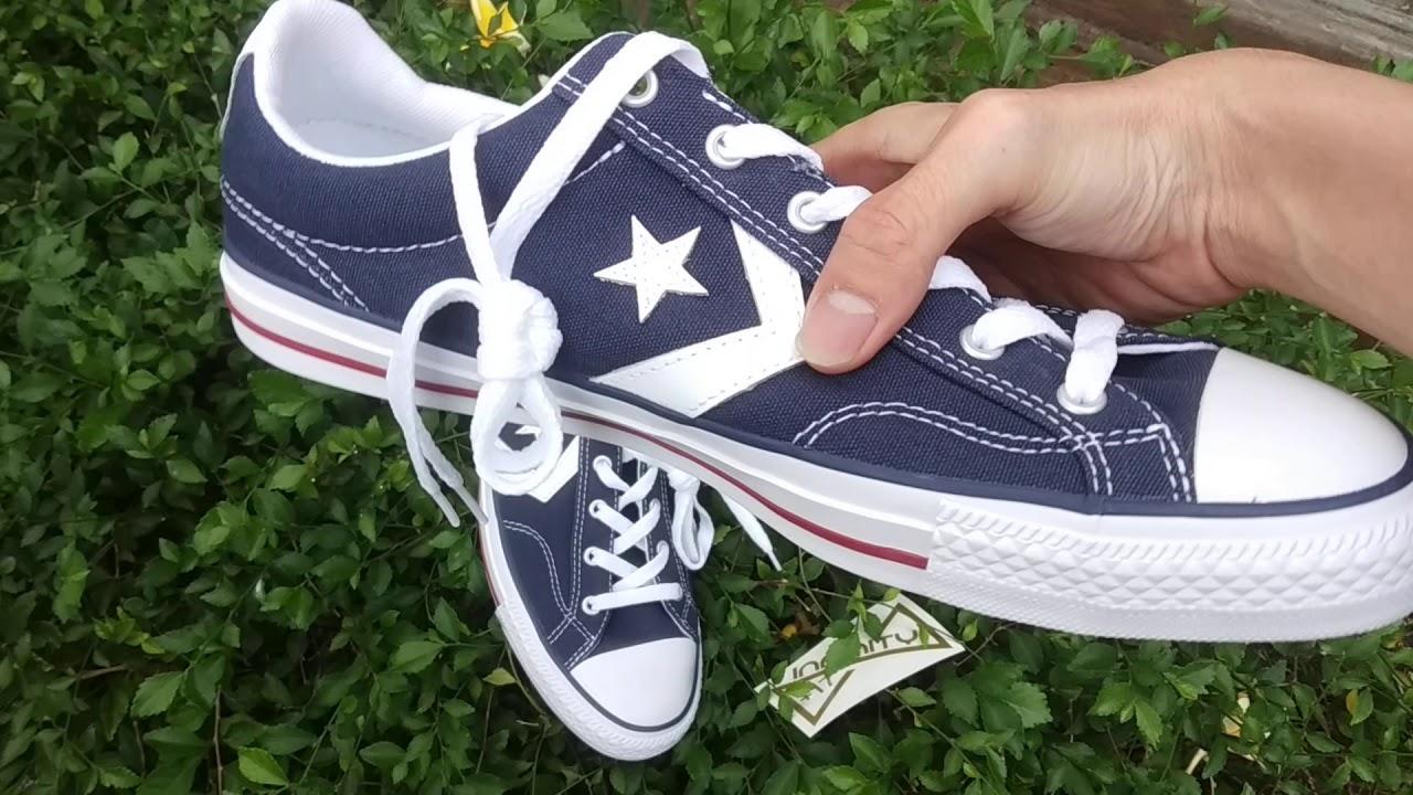 sepatu converse star player