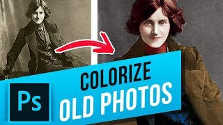 How to Colorize Old Photos in Photoshop