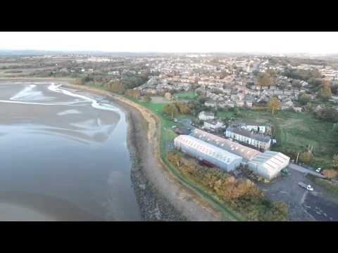Flight over Loughor
