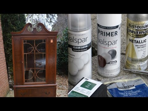 spray paint furnitureHow To Spray Paint furniture  YouTube