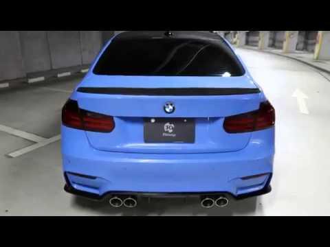 3D Design Tweaks Blue BMW F80 M3