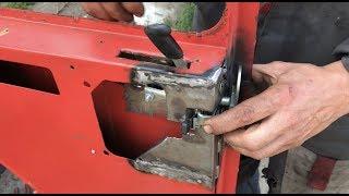 КАК из ТРАКТОРА  Т25 / СДЕЛАТЬ ЛЕКСУС   ремонт кабины,врезка замка.