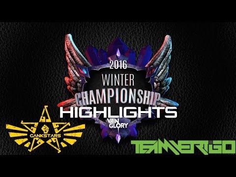 Vainglory NA Winter Championship HIGHLIGHTS: GANKSTARS SIRIUS (2)  VS. VERTIGO BLACK (7)