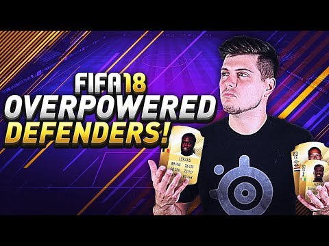 BEST OVERPOWERED DEFENDERS IN FIFA 18 ULTIMATE TEAM! FUT CHAMPIONS SQUAD BUILDING! (FUT 18)