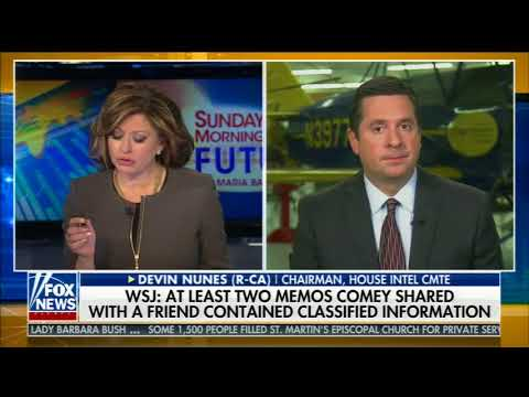 DEVIN NUNES FULL ONE-ON-ONE INTERVIEW WITH MARIA BARTIROMO (4/22/2018)