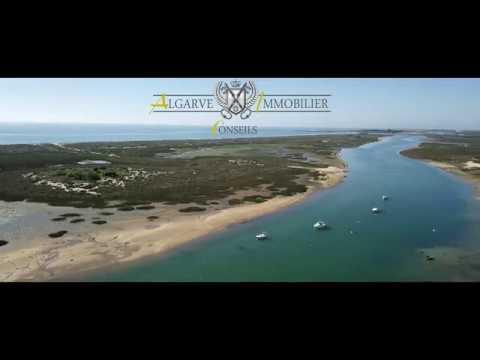 Cabanas de Tavira vue du ciel par Algarve Immobilier Conseils