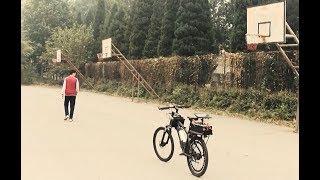 Двухколёсный «беспилотник»: в Китае студенты собрали радиоуправляемый велосипед