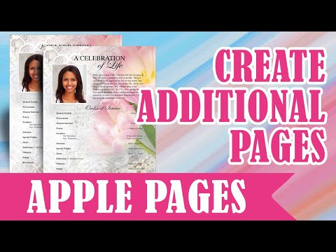 How To Create A Collage Page Using Apple iWork Pages