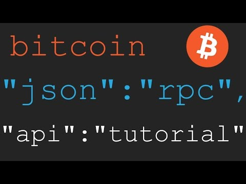 Bitcoin JSON-RPC Tutorial 3 - bitcoin.conf