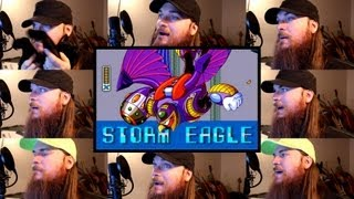 Repeat youtube video Mega Man X - Storm Eagle Acapella