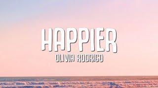 Olivia Rodrigo Happier