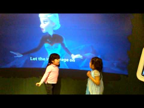 Let it go, Camila in a Disney Store, Queens NY