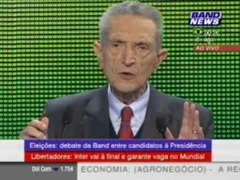 Plínio ARRUDA rouba a cena e provoca rivais em debate presidencial