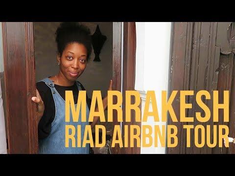 Marrakech Riad Airbnb Tour | Morocco Vlog