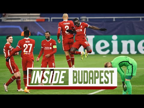Inside Budapest: Liverpool 2-0 RB Leipzig | Reds secure Champions League qualification