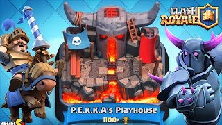 Clash Royale - P.E.K.K.A's PLAYHOUSE Top Player Arena Battle!