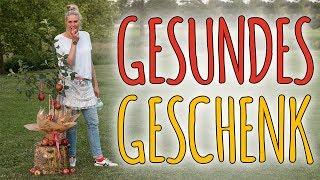 GESUNDES GESCHENK - APFELBAUM EINFACH TOLL DEKORIEREN - DIY
