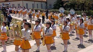 京都橘S.H.S. BAND ブルーメンパレード2017【AM】