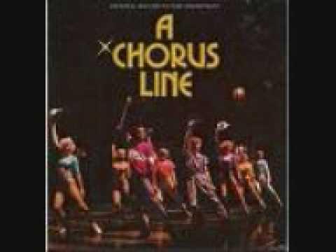 A chorus line - I hope I get it