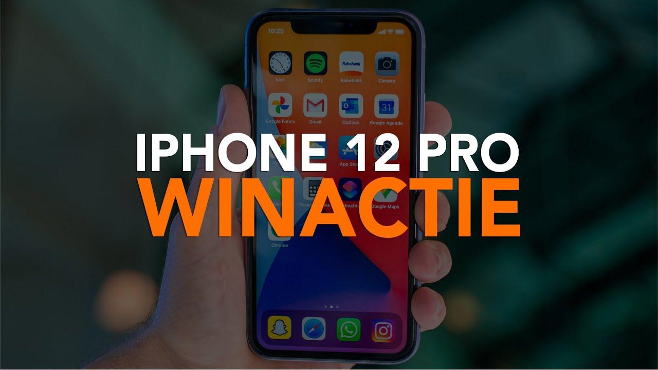 Win de iPhone 12 Pro! iPhoned geeft de nieuwe iPhone weg!