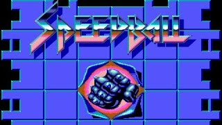 Speedball gameplay (PC Game, 1988)