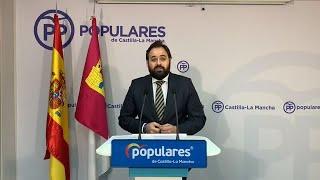 """Núñez a García-Page: """"Se lo ruego, se lo imploro, abra ya el hospital de Toledo"""""""