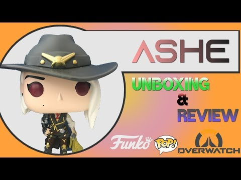 Funko Pop Overwatch Ashe Blizzcon Exclusive Unboxing & Review!