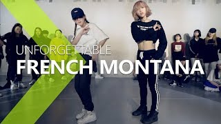 [ Master Class ] French Montana - Unforgettable ft. Swae Lee / Choreography . PK WIN