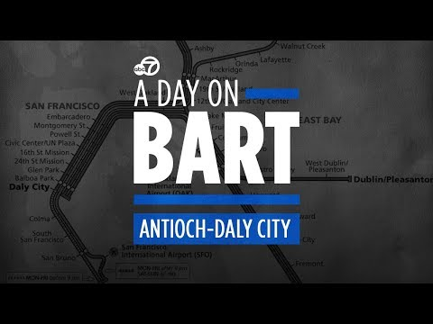 What riding on BART's Antioch-Daly City line is really like