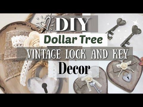 DIY Farmhouse Valentine's Day Decor   Dollar Tree Farmhouse Decor 2019   Krafts by Katelyn