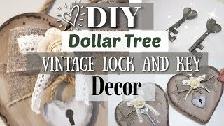 DIY Farmhouse Valentine's Day Decor | Dollar Tree Farmhouse Decor 2019 | Krafts by Katelyn