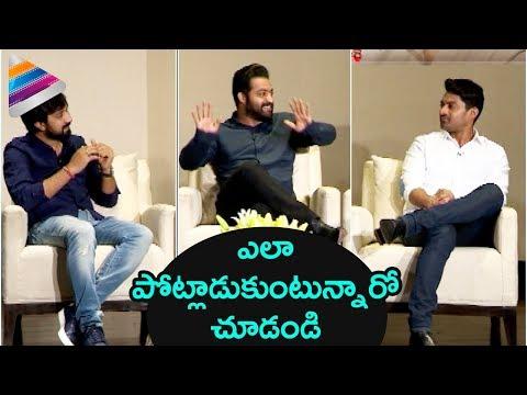 Jr NTR, Kalyan Ram & Bobby Funny Fight | Jai Lava Kusa Funny Interview | Raashi Khanna | Nivetha