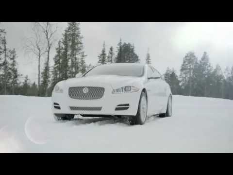 Jaguar AWD XJ  XF 2013 On Ice Commercial Carjam TV HD Car TV
