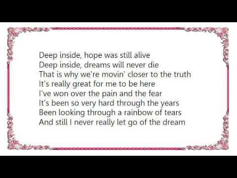Irene Cara - The Dream Hold on to Your Dream Lyrics
