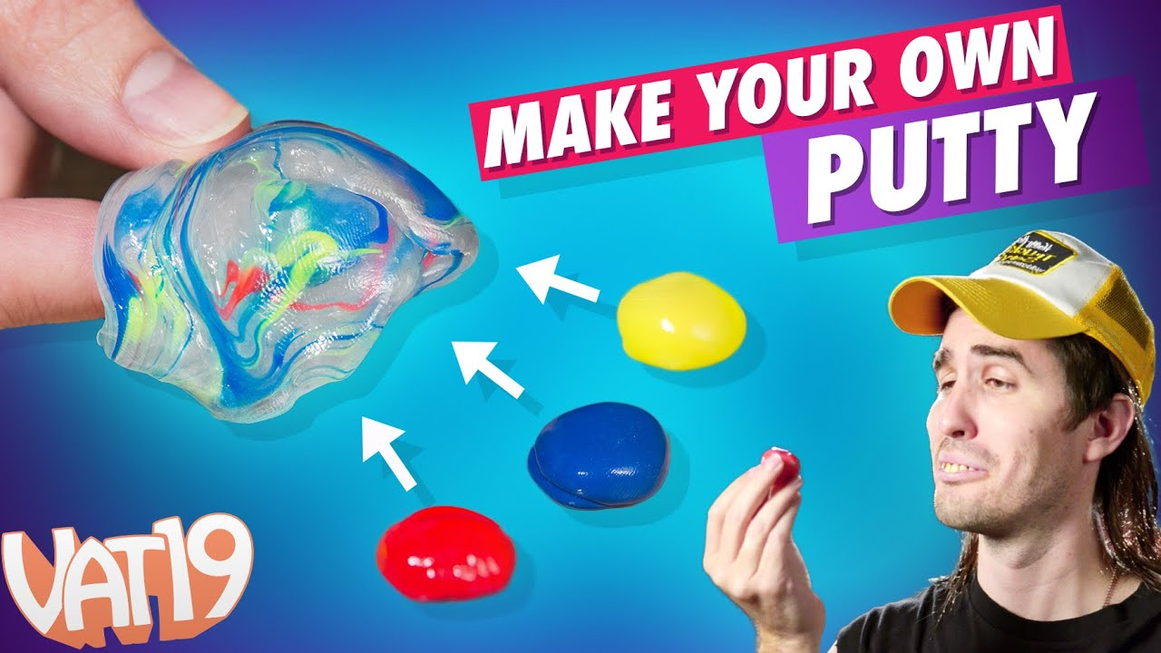Make Your Own Putty Kit Youtube