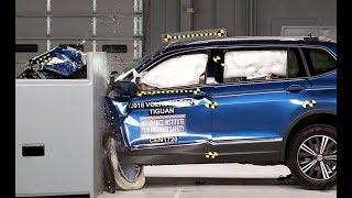 2018 Volkswagen Tiguan Aces IIHS Crash Tests Despite Bad Headlight Performance [Cars news]