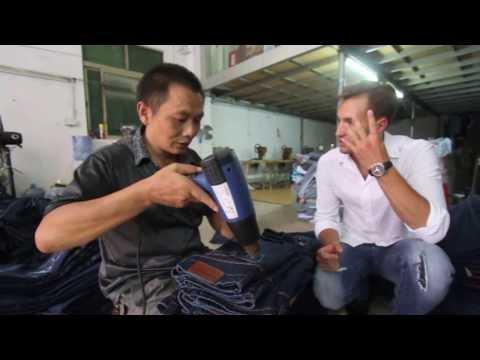 Джинсы из Китая, одежда из Китая, фабрика в Гуанчжоу, производство джинс