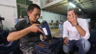 видео Джинсы оптом  от производителя Китай,  купить дешевые джинсы