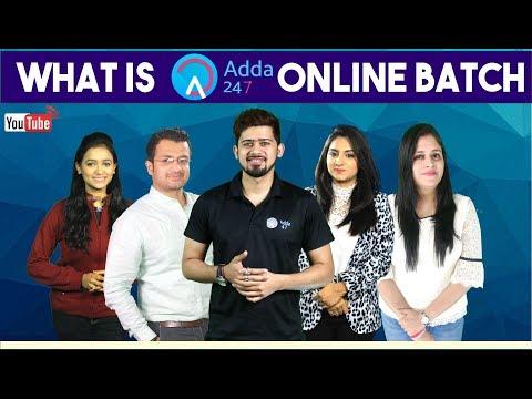 What Is Adda247 Online Batch