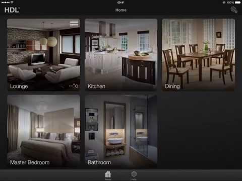 DemoPad HDL Centro-C Auto Configuration iPad App