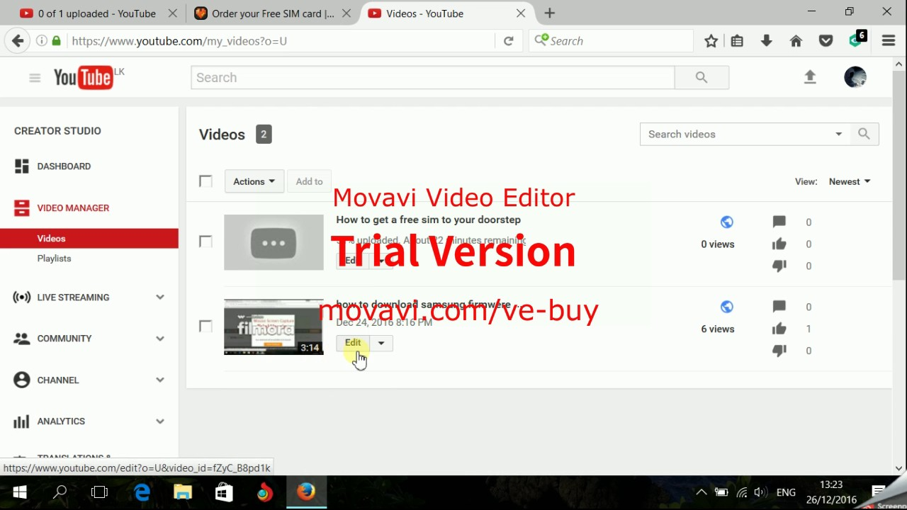 How to delete video from youtube channel youtube how to delete video from youtube channel ccuart Image collections