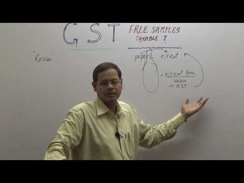 GST  FREE SAMPLES TAXABLE ? (ENGLISH)