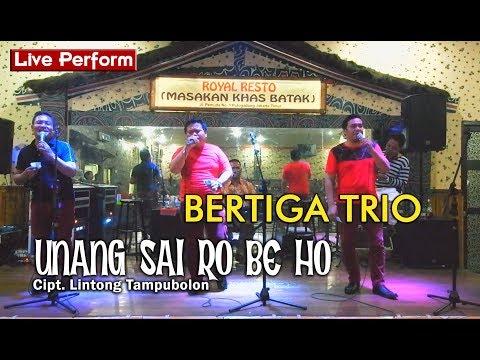 BERTIGA TRIO - UNANG SAI RO BE HO [LIVE PERFORM ROYAL RESTO]