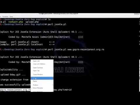 Joomla JCE Exploit   Remote Shell Upload