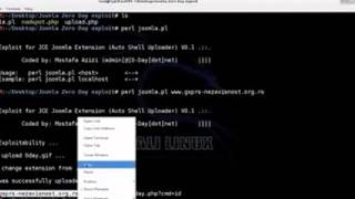 Joomla JCE Exploit   Remote Shell Upload
