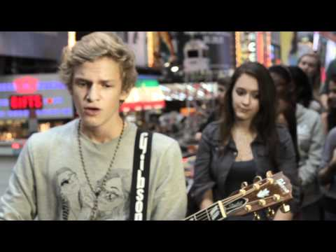 Cody Simpson - Not Just You [LIVE in NYC for MTV]